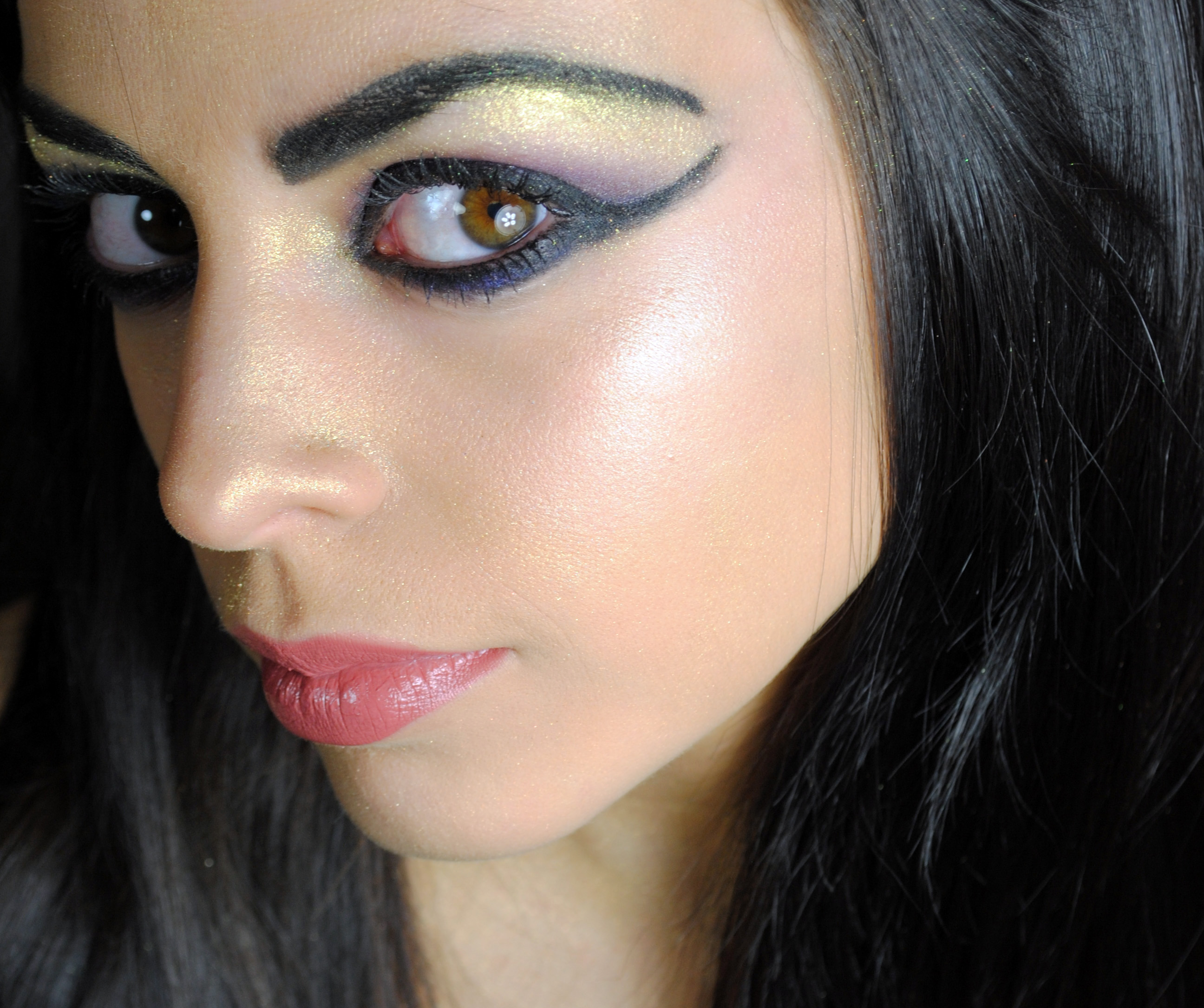 Egyptian Makeup Tutorial : Yesterface