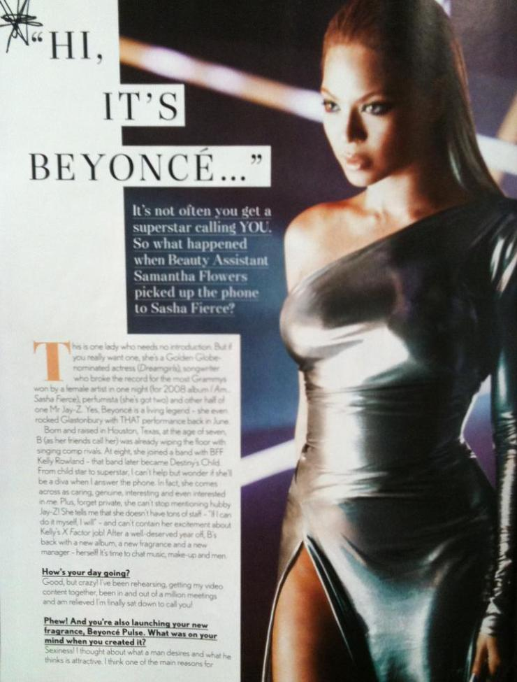 Beyonce Company Magazine Interview