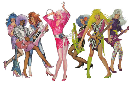 Jem Jerrica and The Holograms