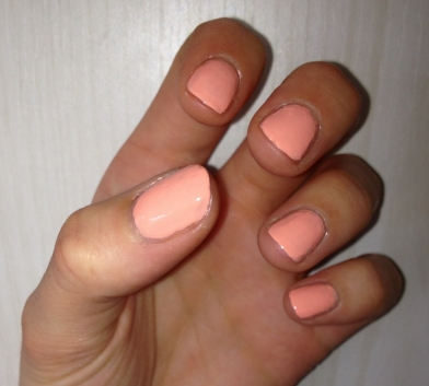 Barry M Nail Varnish Peach Melba