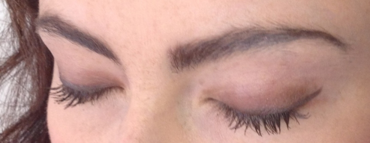 Heledd Williams Lancome eyeshadow No7 Mascara and eyeliner beauty blog