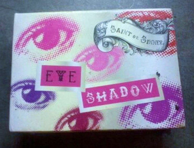 Saint of Sinner eyeshadow palette