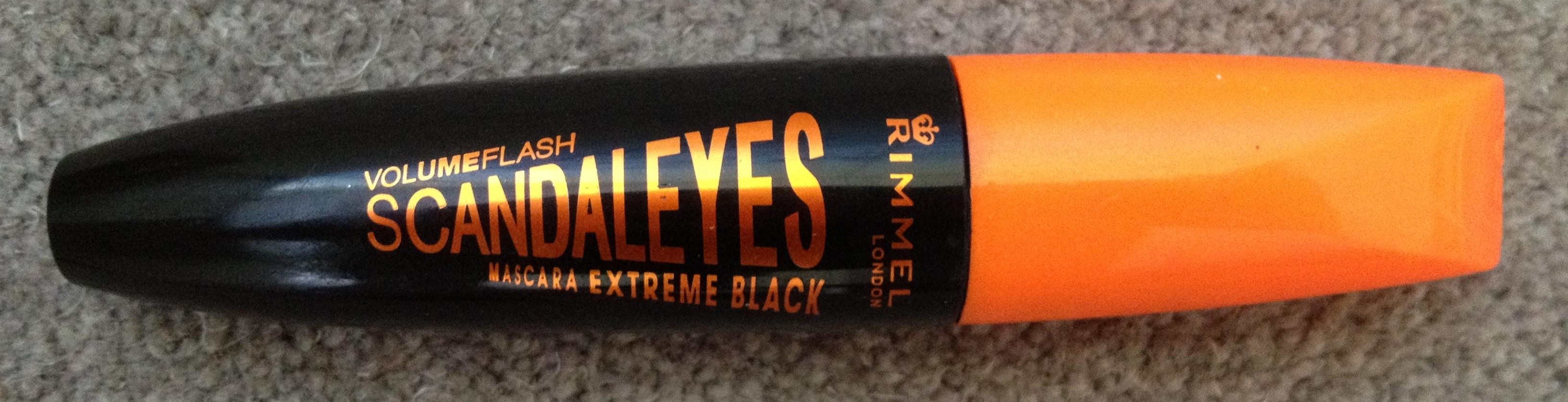 Rimmel Scandaleyes Mascara in Extreme Black: Review | Yesterface