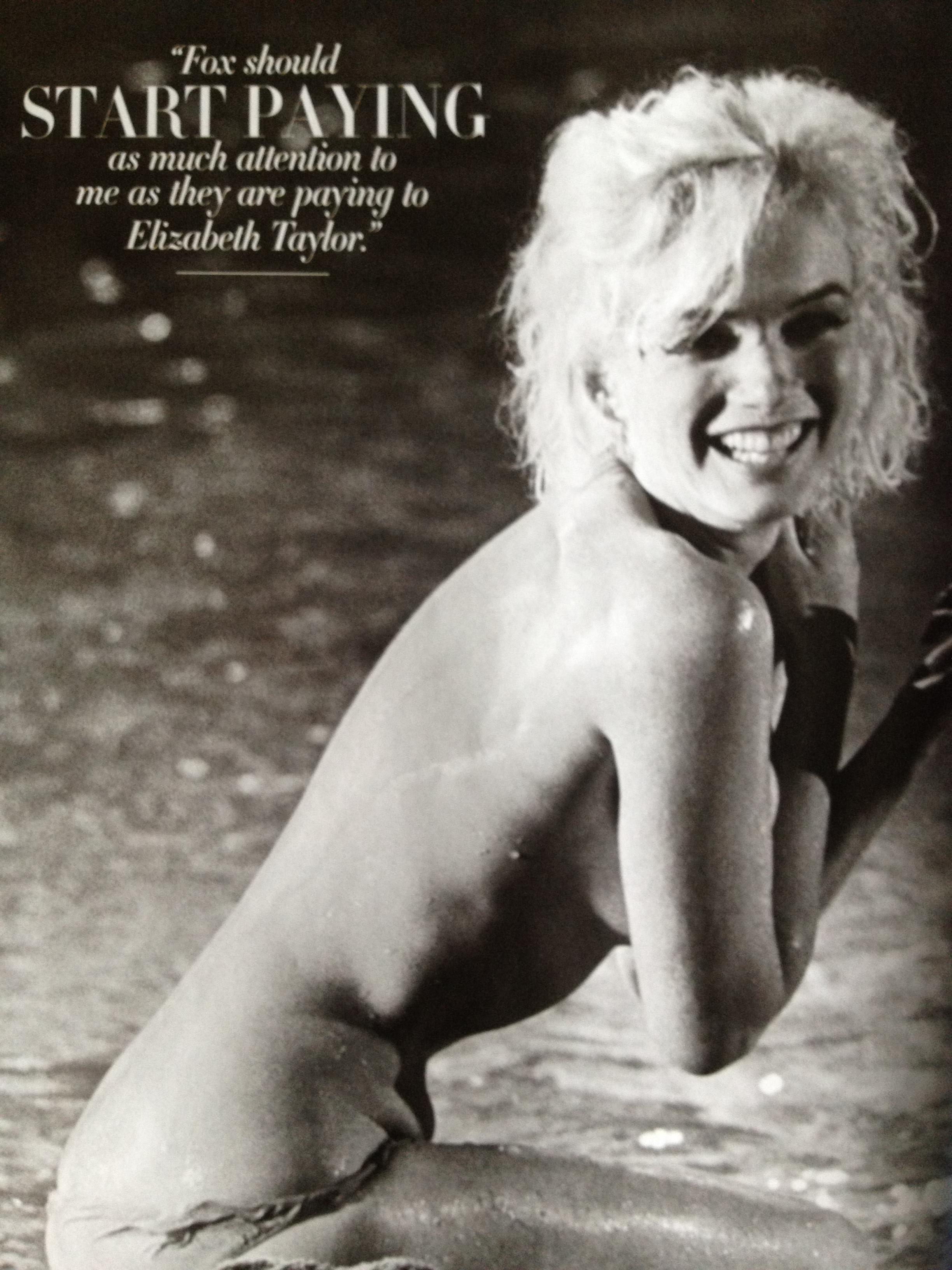 Ovako golu Merlin Monro niste videli Marilyn-monroe