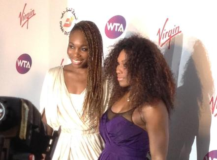 Venus and Serena Williams Wimbledon 2012